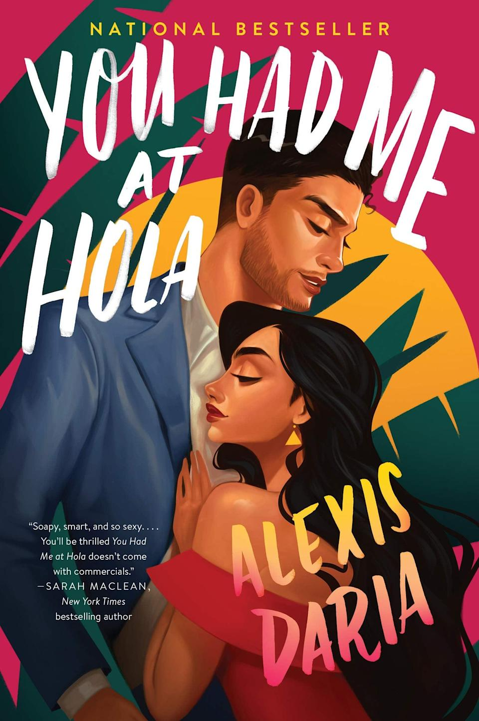 <p>Telenovela enthusiasts will want to read <span><strong>You Had Me at Hola</strong> by Alexis Daria</span> ($11), which dives into the story of soap opera actress Jasmine Lin Rodriguez as she begins filming the modern remake of a popular '90s telenovela. When a casting shake-up brings on popular telenovela actor Ashton Suárez as her new co-star, it's their <em>off-screen</em> chemistry that could make or break their careers.</p> <p>The story compares Jasmine and Ashton's show to the likes of <strong>Jane the Virgin</strong> and <strong>Ugly Betty</strong>, so if they enjoy watching those, they might like reading this book! It gives you a look into the production aspect of TV shows, from table reads to scene rehearsals with an intimacy coordinator, plus, the plot of each episode Jasmine and Ashton film plays out on paper alongside their own developing love story. The plot itself is like the perfect soap opera: swoon-y, sexy, and entertaining as hell.</p>