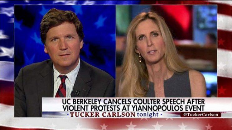 Tucker' And 'The Five' Make Ann Coulter A Martyr
