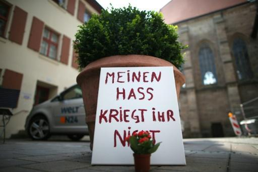 Syrian suicide bomber in Germany 'in chat' just before attack