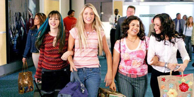 Blake Lively Takes Some Artistic Liberty with the Latest Traveling Pants Reunion
