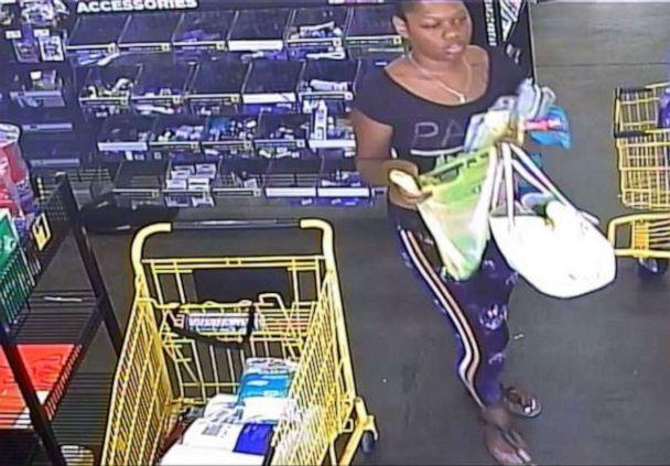 PHOTO: Greensboro, N.C., police are looking to identify this woman seen on surveillance video near the scene of the abduction of a 3-year-old girl on Wednesday, Oct. 9, 2019. The police chief called her the suspected abductor. (Greensboro Police Department)