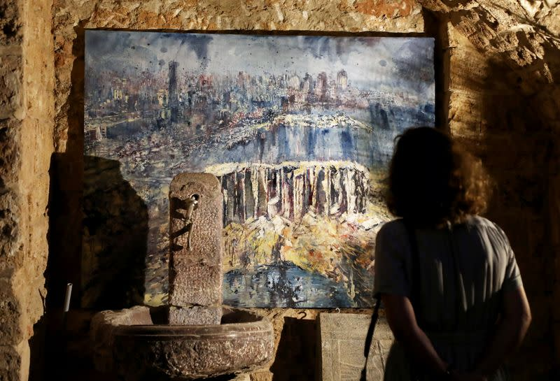 Channeling 'anger into art', artists in Beirut process blast