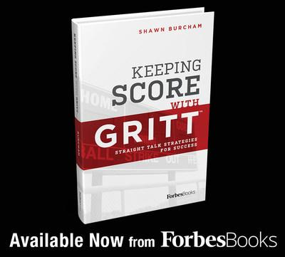 """Shawn Burcham Releases """"Keeping Score with GRITT"""" with ForbesBooks"""