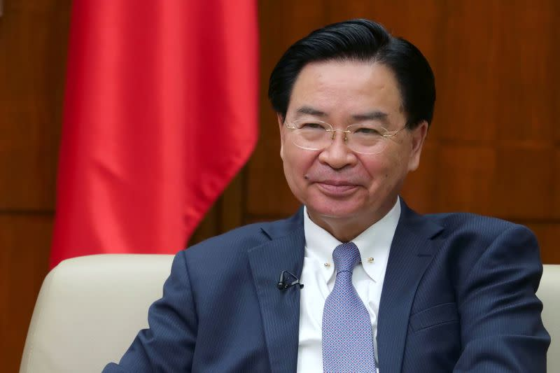 Taiwan foreign minister invites U.S. reporters expelled by China
