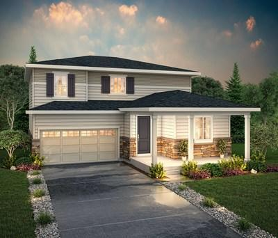 Two-story Vail floor plan at Harmony in Aurora, CO | Century Communities