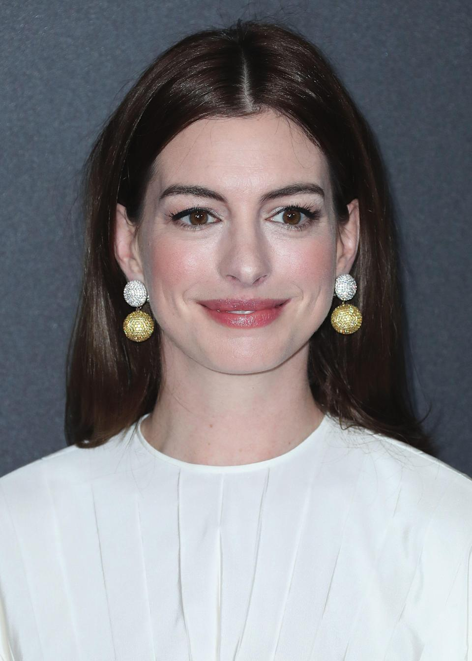 """<p><strong><em>The Last Thing He Wanted</em></strong><br>TBA</p><p>High-brow alert — Dee Rees of <em>Mudbound</em> directs this adaptation of a Joan Didion novel. Elena McMahon (Anne Hathaway) quits her job as a reporter covering the 1984 presidential election to care for her ailing father.</p><span class=""""copyright"""">Xavier Collin/PictureGroup/REX/Shutterstock</span>"""