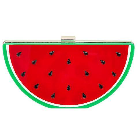 "<p>John Lewis Megs Watermelon Clutch, $68, <a href=""https://www.polyvore.com/john_lewis_megs_watermelon_clutch/thing?id=212214235"" rel=""nofollow noopener"" target=""_blank"" data-ylk=""slk:johnlewis.com"" class=""link rapid-noclick-resp"">johnlewis.com</a><br><br></p>"