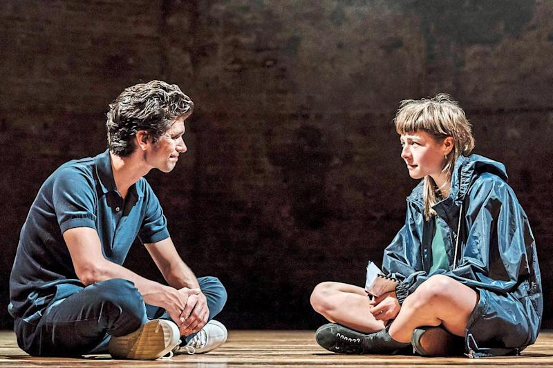 Meeting of minds: Ben Whishaw as Luke and Emma D'Arcy as Anna: Johan Persson