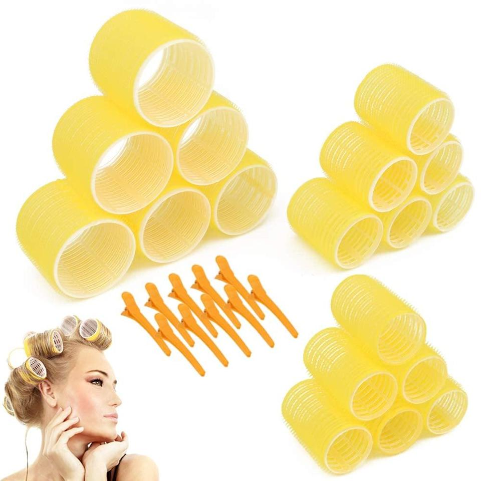 <p>Get volume for days with these <span>Jumbo Size Hair Roller Sets</span> ($14). It comes with six jumbo, six large, and six medium-size rollers.</p>