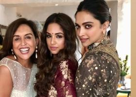 Deepika Padukone turns heads in a dazzling Sabyasachi outfit for a friend's wedding