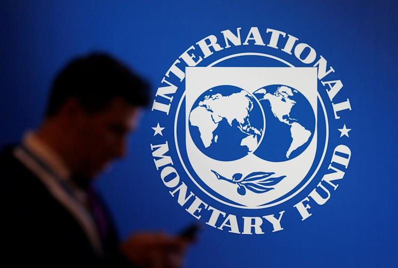 International Monetary Fund revises down global growth rate projections for 2019 to 3.5 percent