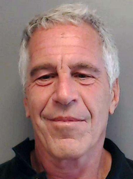 PHOTO: In this July 25, 2013 file photo Jeffrey Epstein is seen here in a mugshot. (Florida Department of Law Enforcement via Getty Images, FILE)