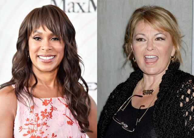 ABC Entertainment president Channing Dungey gave her first interview since Roseanne Barr's racist tweet led to the cancellation of the network's hit <em>Roseanne</em> reboot. (Photos: Getty Images)