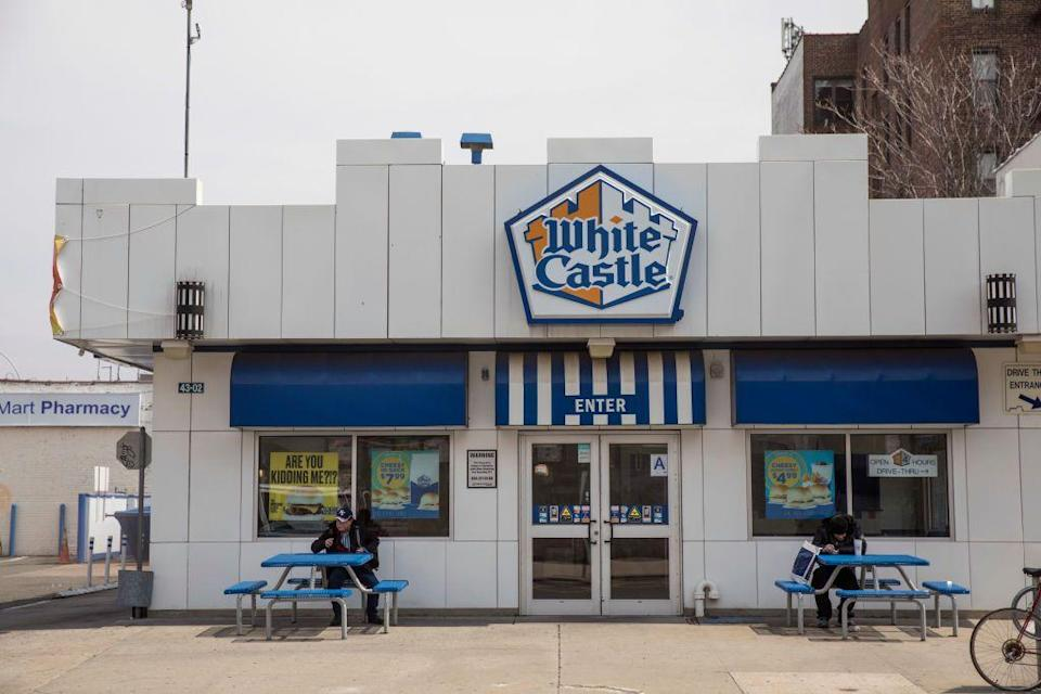 "<p><a href=""https://www.whitecastle.com/"" rel=""nofollow noopener"" target=""_blank"" data-ylk=""slk:White Castle"" class=""link rapid-noclick-resp"">White Castle</a> restaurants are typically open every day except for Christmas and Easter, so if you want some sliders on Turkey Day, you're in luck.</p>"