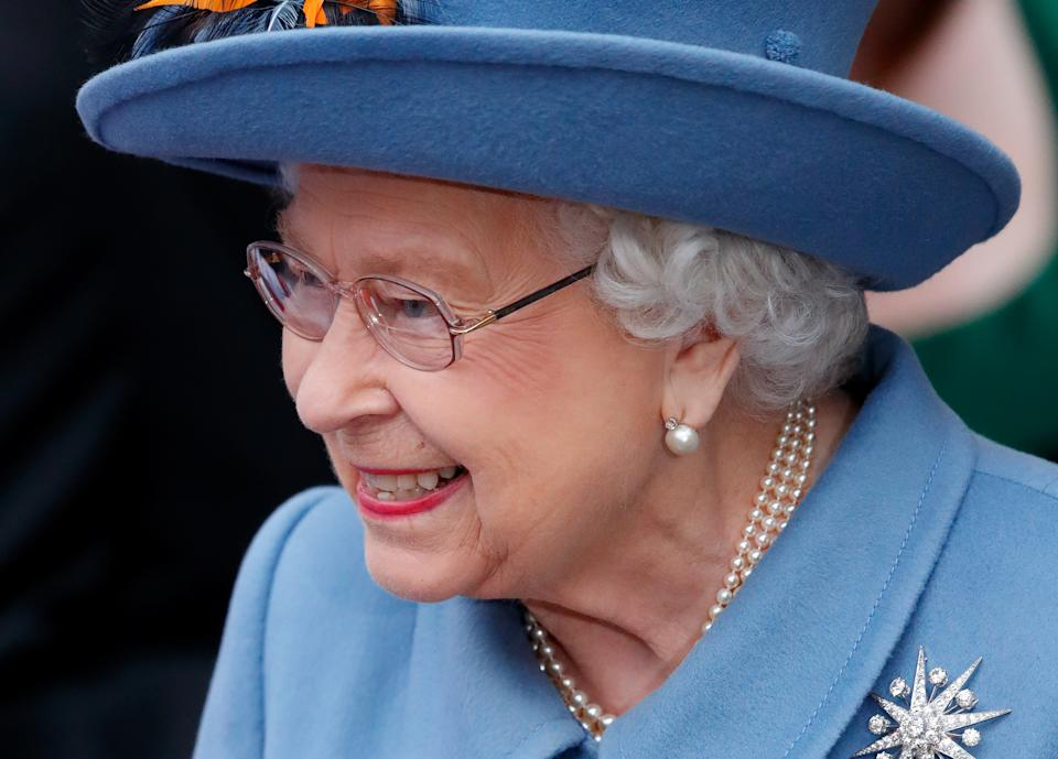 LONDON, UNITED KINGDOM - MARCH 09: (EMBARGOED FOR PUBLICATION IN UK NEWSPAPERS UNTIL 24 HOURS AFTER CREATE DATE AND TIME) Queen Elizabeth II attends the Commonwealth Day Service 2020 at Westminster Abbey on March 9, 2020 in London, England. The Commonwealth represents 2.4 billion people and 54 countries, working in collaboration towards shared economic, environmental, social and democratic goals. (Photo by Max Mumby/Indigo/Getty Images)