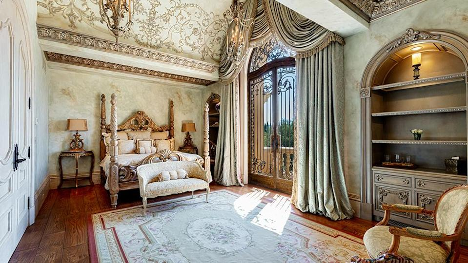 One of the bedrooms - Credit: Photo: Wayne Ford