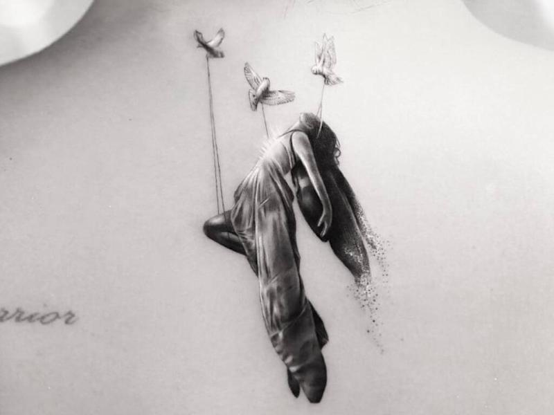Demi Lovato's angelic new tattoo symbolises 'spiritual awakening'