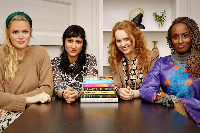 The Women's Prize for Fiction 2019 judges. (L-R) Dolly Alderton, Arifa Akbar, Professor Kate Williams and Leyla Hussein (Women's Prize for Fiction/Sam Holden Agency)