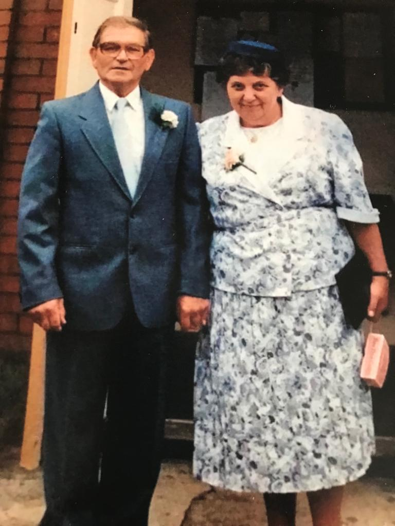Daniel Jones dedicated his challenge to his paternal grandparents Fred and Rosemary Jones, who died within a fortnight of each other in 2018, with Alzheimer's. (Family photo/ PA)