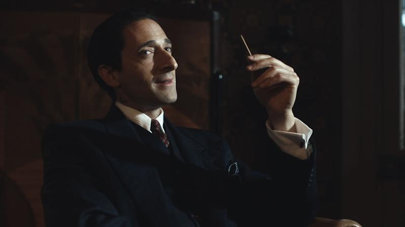 PEAKY BLINDERS, Adrien Brody in 'Heathens' (Season 4, Episode 2, aired November 15, 2017). Netflix/courtesy Everett Collection