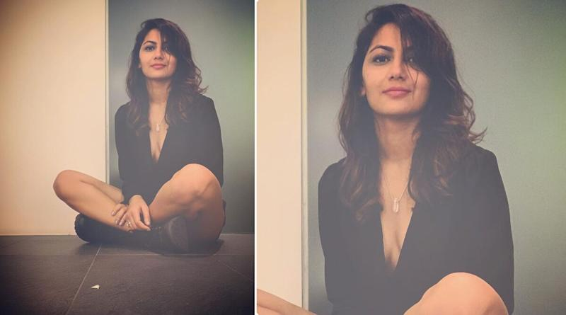Kumkum Bhagya Actress Sriti Jha Wows in Plunging Little Black Outfit and We Can't Take Our Eyes off Her (View Pic)