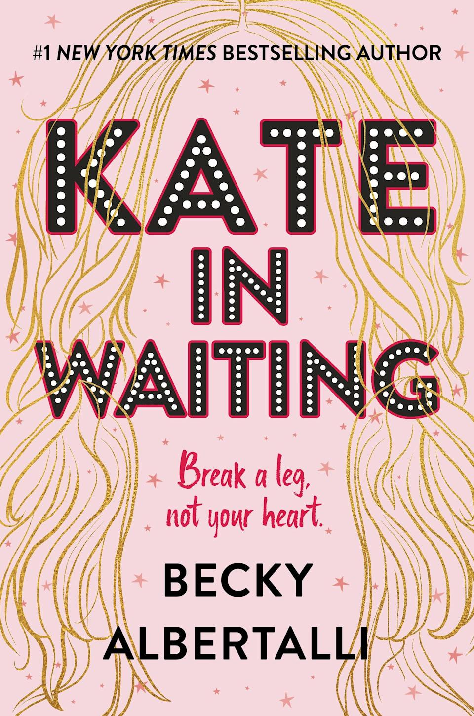 <p>Bestselling YA novelist Becky Albertelli is back with <strong><span>Kate in Waiting</span></strong>, the story of two drama-club BFFs who face the biggest test yet of their friendship: a very cute guy. Kate and Anderson are the very best of friends, and they're used to crushing on the same guys (from afar, of course). When their latest crush Matt transfers to their school, though, Kate starts to have real feelings for him - but Anderson does too.</p> <p><em>Out April 20</em> </p>