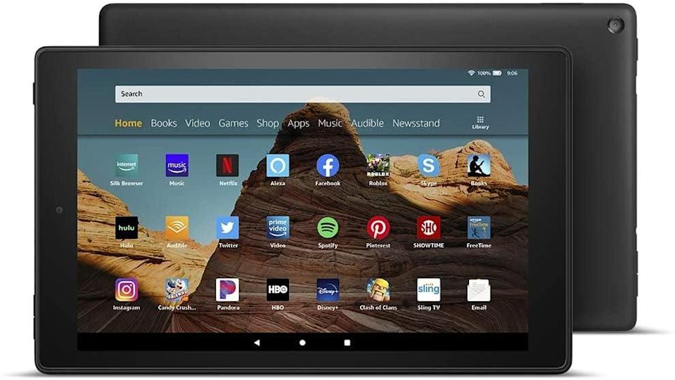 <p><span>Fire HD 10 Tablet </span> ($80, originally $150)</p>