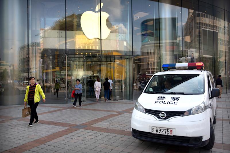 China Takes Wind Out Of Apple iPhone Sales