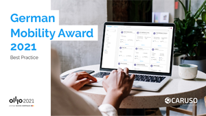 """CARUSO has been selected from more than 300 applicants as one of the ten winners of the """"Germany - Land of Ideas"""" (Deutschland - Land der Ideen) competition organized by the German Federal Ministry of Transport and Digital Infrastructure."""