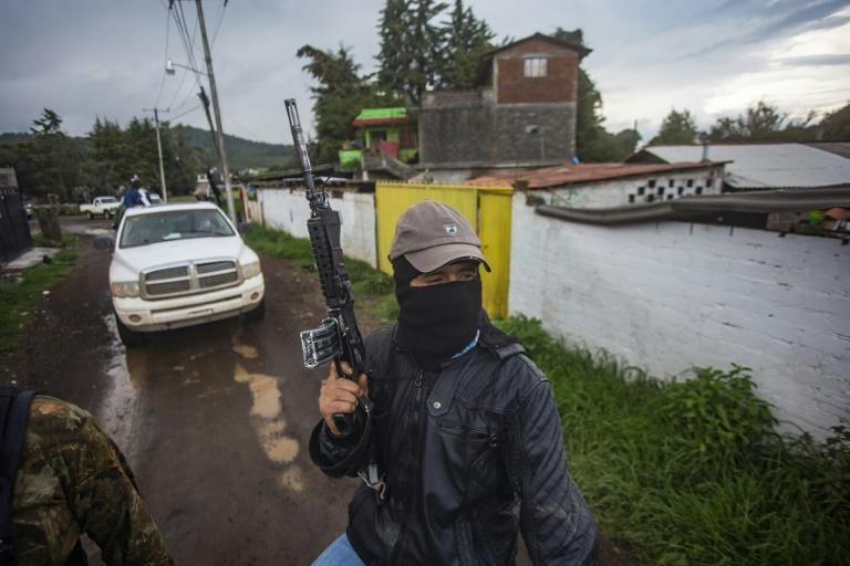 The vigilantes say they had no choice but to arm themselves in the face of cartel-related violence