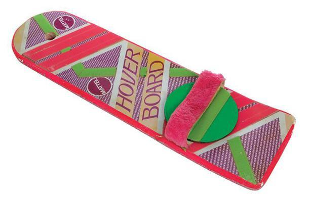 Marty's hoverboard is up for auction