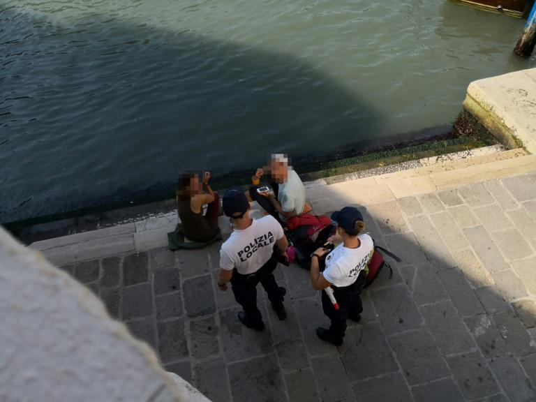 Under a new law passed in Venice in May, people can be fined and asked to leave the city for inappropriate behaviour