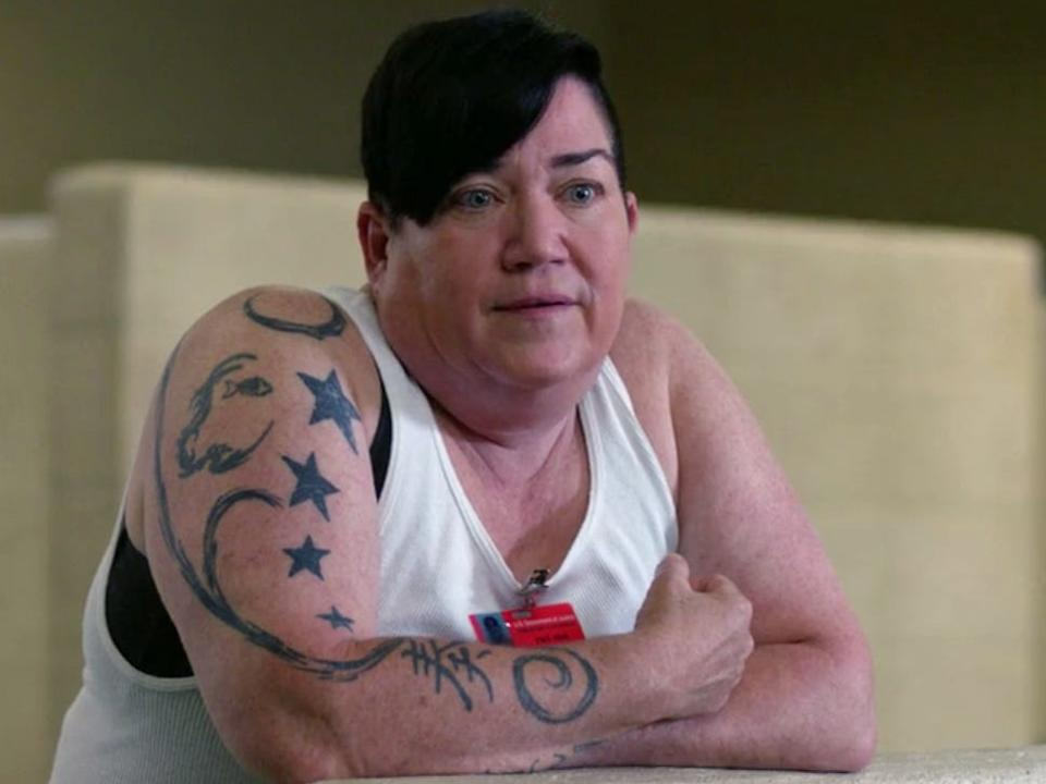 "Lea DeLaria appeared on ""Orange Is the New Black."""