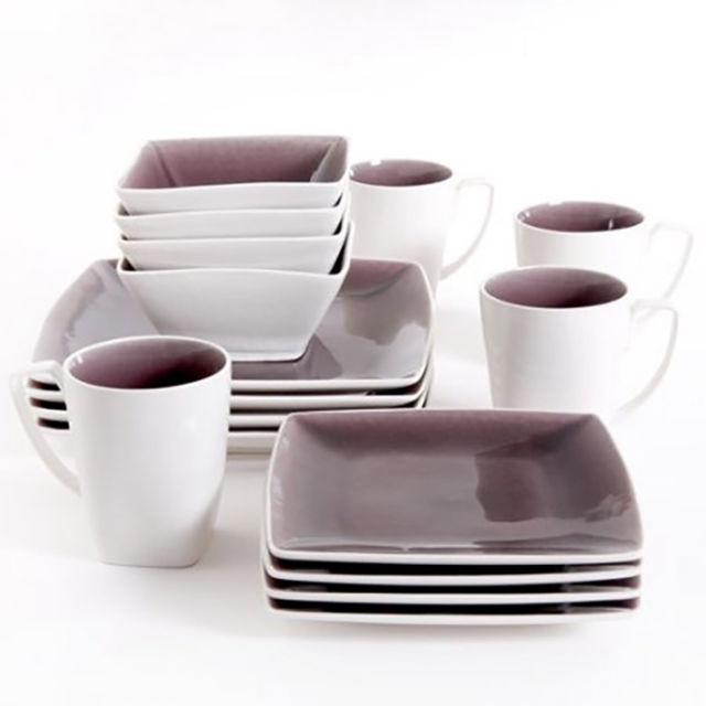 """<p>Snag a 16-piece dinnerware set that looks like it came straight from your West Elm wishlist for a fraction of the cost. ($78.61; <a href=""""https://www.walmart.com/ip/Gibson-Studio-Pleasanton-16-Piece-Dinnerware-Set-Square/33965472?variantFieldId=actual_color"""" rel=""""nofollow noopener"""" target=""""_blank"""" data-ylk=""""slk:walmart.com"""" class=""""link rapid-noclick-resp"""">walmart.com</a>)</p><p><strong><a href=""""https://www.walmart.com/ip/Gibson-Studio-Pleasanton-16-Piece-Dinnerware-Set-Square/33965472?variantFieldId=actual_color"""" rel=""""nofollow noopener"""" target=""""_blank"""" data-ylk=""""slk:BUY NOW"""" class=""""link rapid-noclick-resp"""">BUY NOW</a></strong><br></p><p><strong>RELATED: <a href=""""http://www.redbookmag.com/home/decor/news/g3976/stunning-kitchens/"""" rel=""""nofollow noopener"""" target=""""_blank"""" data-ylk=""""slk:20 Kitchens That Are So Insanely Gorgeous, They're Basically #RoomPorn"""" class=""""link rapid-noclick-resp"""">20 Kitchens That Are So Insanely Gorgeous, They're Basically #RoomPorn</a></strong><br></p>"""