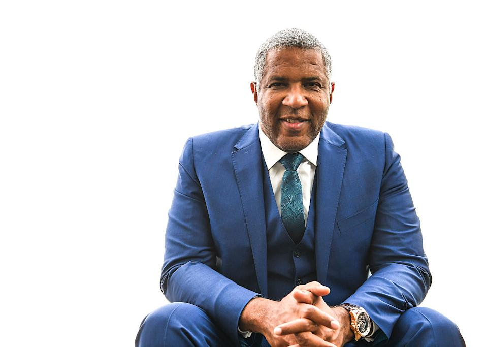 <strong>Estimate net worth US $5 billion as of September 2019 </strong>I Robert Frederick Smith (Age 57) is an American billionaire businessman, philanthropist, chemical engineer, and investment banker. He is the founder, chairman and CEO of private equity firm Vista Equity Partners. In 2018, Smith was ranked by Forbes as the 163rd richest person in America.