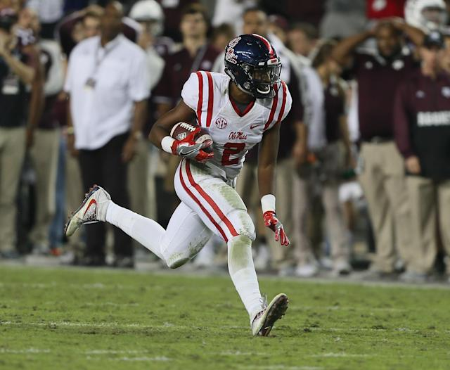 "<a class=""link rapid-noclick-resp"" href=""/ncaaf/players/270678/"" data-ylk=""slk:Deontay Anderson"">Deontay Anderson</a> was a key starter for Ole Miss in 2016. He redshirted in 2017. (Getty)"
