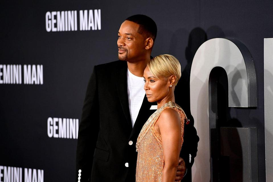 Will and Jada Pinkett Smith Beauty Line Launch at Target