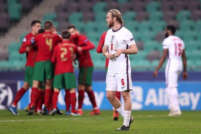 England suffered their second successive defeat in Slovenia