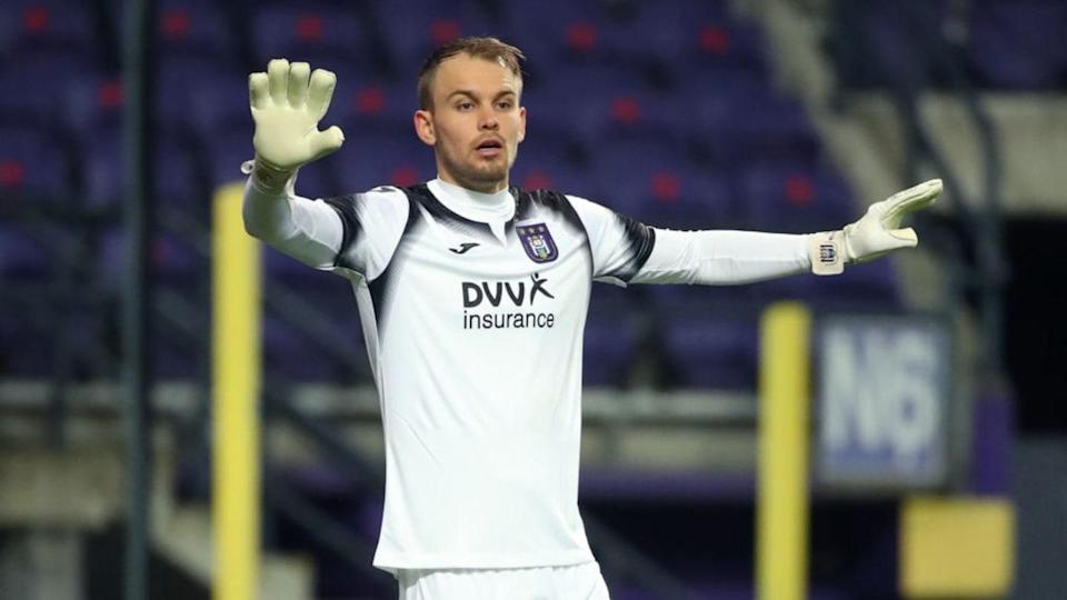 Timon Wellenreuther, portiere dell'Anderlecht | Isosport/MB Media/Getty Images