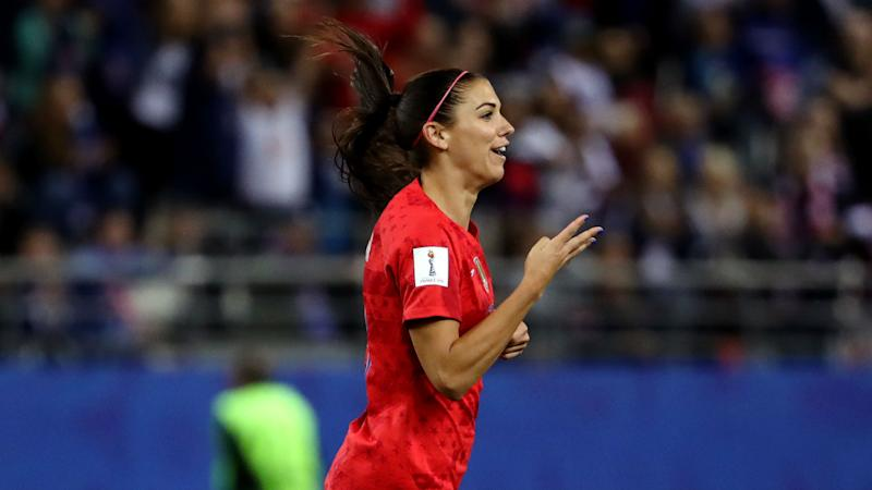 Alex Morgan USWNT Thailand Women's World Cup 2019