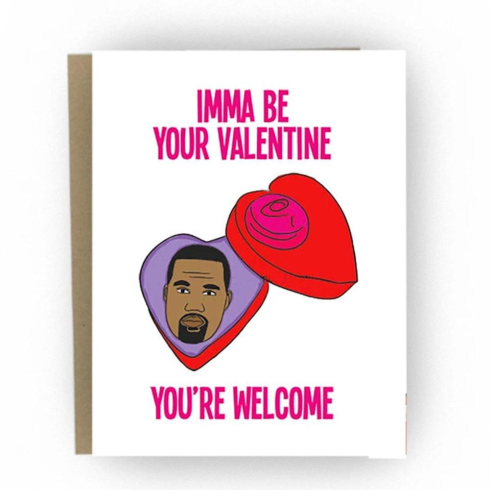 """<p>Sure, texts and emails are great… but nothing beats some good old-fashioned snail mail. The folks at the Good Snail have a <a href=""""https://thegoodsnail.com/collections/valentines-day-cards"""" rel=""""nofollow noopener"""" target=""""_blank"""" data-ylk=""""slk:delightful selection of witty cards"""" class=""""link rapid-noclick-resp"""">delightful selection of witty cards</a> that you can fill out online and they'll deliver right to your loved one's mailbox!</p> <p><strong>$6 plus shipping, <a href=""""https://thegoodsnail.com/collections/valentines-day-cards"""" rel=""""nofollow noopener"""" target=""""_blank"""" data-ylk=""""slk:thegoodsnail.com"""" class=""""link rapid-noclick-resp"""">thegoodsnail.com</a></strong></p> <p><strong>*Use discount code EW20 for 20% off </strong></p>"""