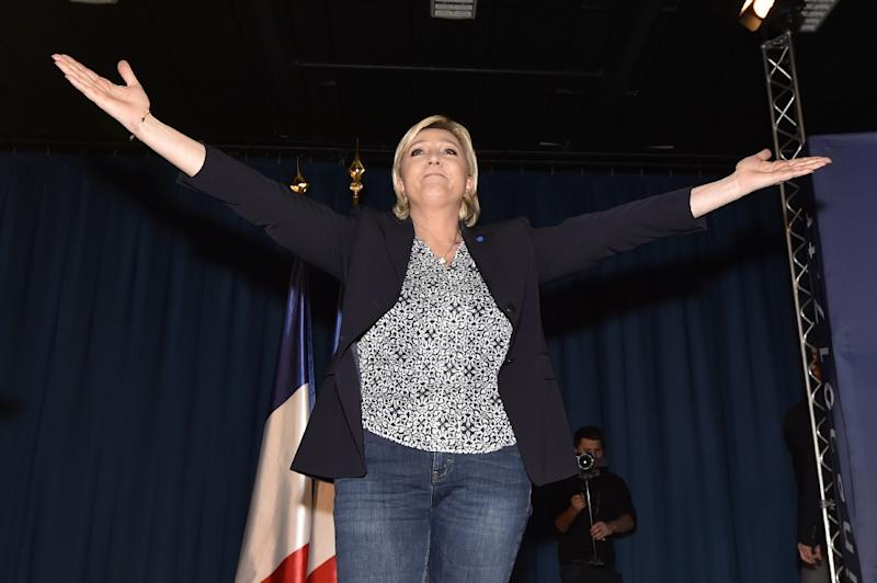 French far-right leader  Marine Le Pen could win the presidential election, warned the current president Francois Hollande
