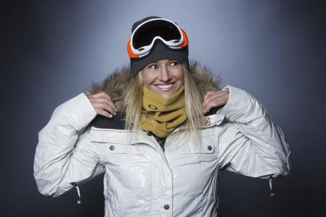 Olympic snowboarder Gretchen Bleiler poses for a portrait during the 2013 U.S. Olympic Team Media Summit in Park City, Utah October 2, 2013. REUTERS/Lucas Jackson (UNITED STATES - Tags: SPORT OLYMPICS PORTRAIT SNOWBOARDING)