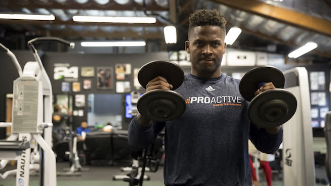 When Pita Taumoepenu caught his first glimpse of American football, he was 17 years old. He didn't know a lick of English, but he knew he liked what h...