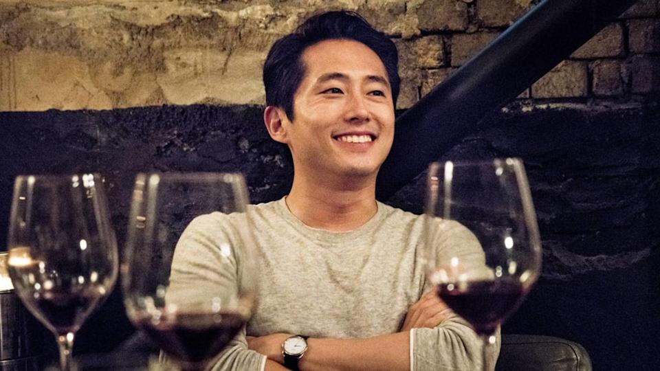 """<p>In this suspenseful South Korean film based on a Haruki Murakami story, a writer is in love with his high school friend, but she's involved with a well-off man named Ben (Steven Yeun). This love triangle twists into jealousy and criminal behavior as the film unravels. </p> <p><a href=""""http://www.netflix.com/title/81015498"""" class=""""link rapid-noclick-resp"""" rel=""""nofollow noopener"""" target=""""_blank"""" data-ylk=""""slk:Watch Burning on Netflix now."""">Watch <strong>Burning</strong> on Netflix now.</a></p>"""