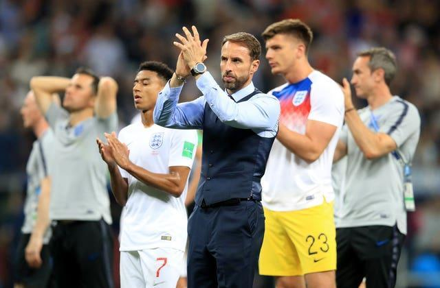 Gareth Southgate led England to the World Cup semi-finals in 2018