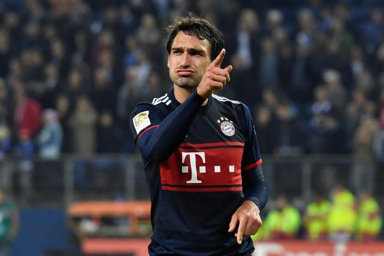 The inclusion of Hummels (pictured) in the squad for Leipzig is good news for Bayern after stand-in captain Thomas Mueller was ruled out for the next three weeks
