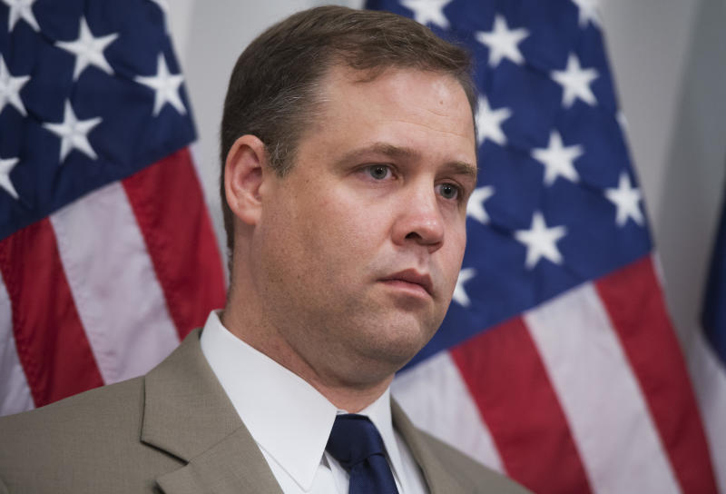 Rep. Jim Bridenstine has been chosen to lead NASA despite his past scorn for climate science. (Tom Williams/CQ Roll Call via Getty Images)