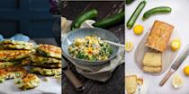 """<p>Courgette or zucchini, whatever you want to call it, there are plenty of ways to get the vegetable into your diet. </p><p>Cooking courgettes is easy, and there are so many ways to work with them whether you want to bake them with cheese, stuff them, or turn them into courgetti pasta. </p><p>Courgettes are in season from <a href=""""https://www.goodhousekeeping.com/uk/house-and-home/gardening-advice/a561350/jobs-to-do-in-the-garden-in-june/"""" rel=""""nofollow noopener"""" target=""""_blank"""" data-ylk=""""slk:June"""" class=""""link rapid-noclick-resp"""">June</a>/<a href=""""https://www.goodhousekeeping.com/uk/house-and-home/gardening-advice/a554590/gardening-july-jobs-garden/"""" rel=""""nofollow noopener"""" target=""""_blank"""" data-ylk=""""slk:July"""" class=""""link rapid-noclick-resp"""">July</a> onwards. If you're <a href=""""https://www.goodhousekeeping.com/uk/house-and-home/gardening-advice/a36142845/how-to-grow-courgettes/"""" rel=""""nofollow noopener"""" target=""""_blank"""" data-ylk=""""slk:growing courgettes"""" class=""""link rapid-noclick-resp"""">growing courgettes</a> in your <a href=""""https://www.goodhousekeeping.com/uk/house-and-home/gardening-advice/"""" rel=""""nofollow noopener"""" target=""""_blank"""" data-ylk=""""slk:garden"""" class=""""link rapid-noclick-resp"""">garden</a> you will be rewarded with a plentiful supply as they grow so quickly in the weather is warm.</p><p>So as we approach summer time, here are some delicious, and healthy ways to enjoy courgettes.</p>"""