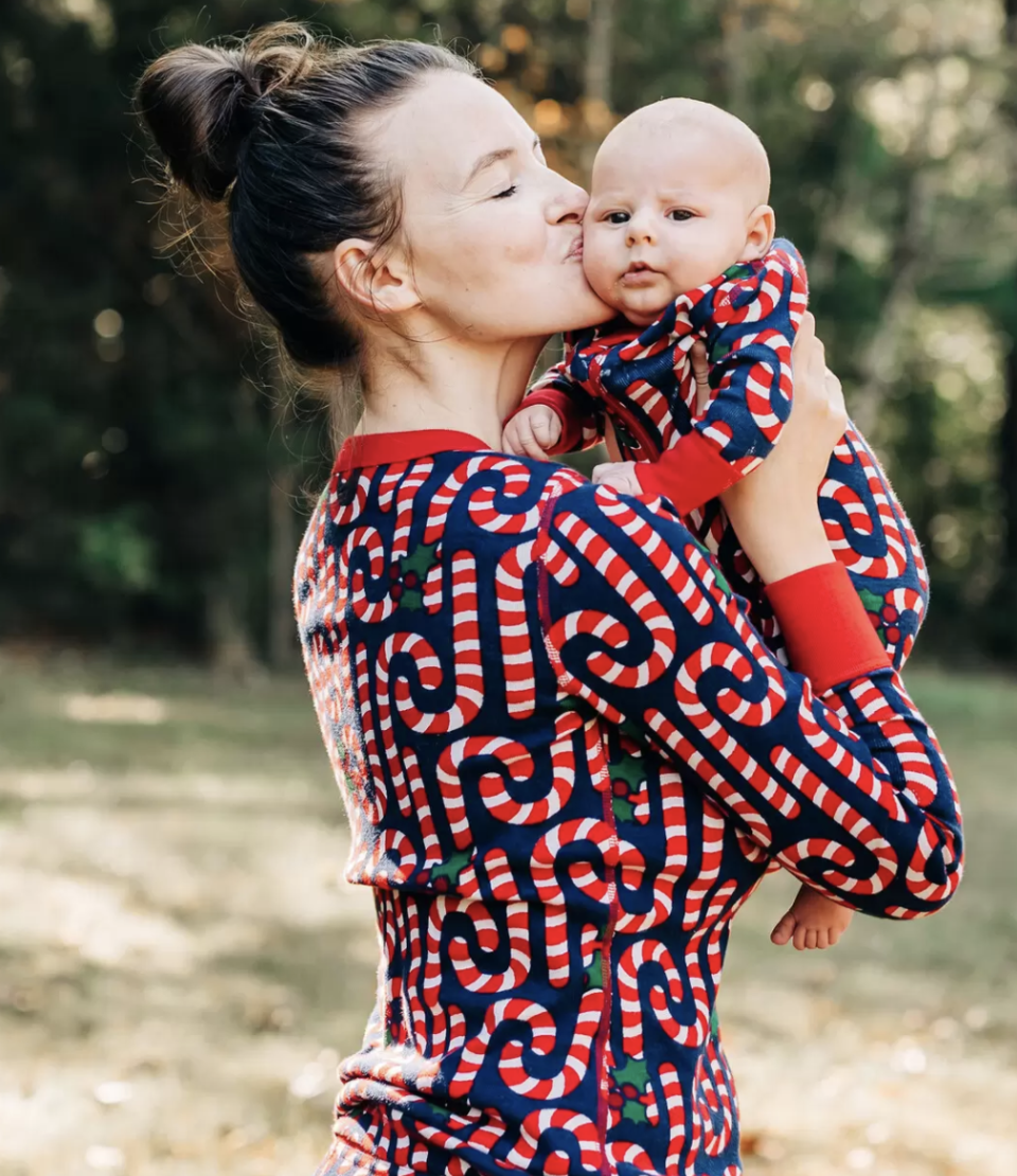 Candy Cane Matching Family Pyjamas by Hanna Anderson, from $38 (originally $54) .